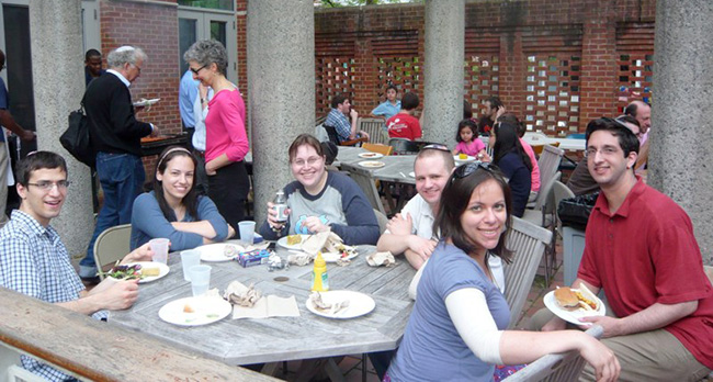 Lag Ba'omer BBQ at Young Israel House at Yale